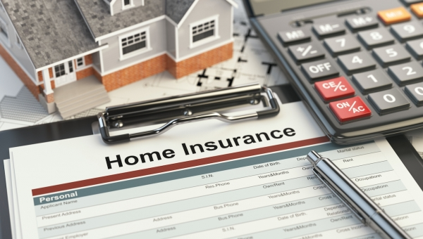 Home insurance to file a damage claim