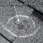Has your Houston roof experienced hail roof damage?