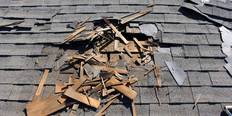Houston roof repair and roof replacement.