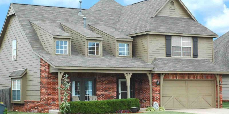 New roof on home. Houston roofing company for roof repair and roof replacement.