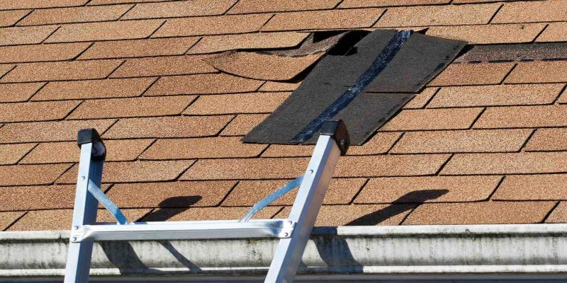 Damaged Roof Shingles Roof Repair Houston